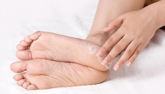علاج تورم القدمين